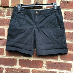 Old Navy Black Bermuda Shorts
